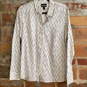 NWT J. Crew brushstrokes blouse